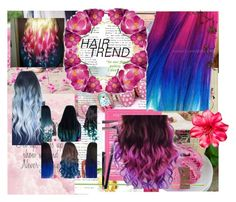 """Ombre hair"" by roslyn-lynch ❤ liked on Polyvore featuring beauty"
