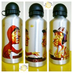 Squeeze personalizado Chaves e chapolin Chavo del 8 Polegar vermelho Cacáneka cacaneka