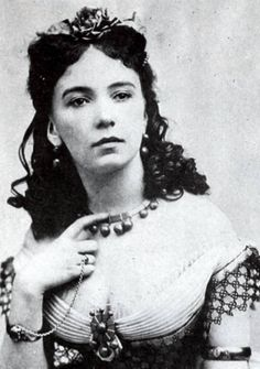 Cora Pearl (born Emma Crouch in 1835) was at her time the most famous courtesan in Paris. she may not have been the most conventional beauty, but she charmed men with her daring sexuality, enviable body, wit and lust for life. there are many stories about Cora, some probably true and some not: it has been told she used to bathe in expensive champagne, once had herself served naked on a silver plate at a fancy dinner and dyed her hair red, pink and golden - and her dog's hair to match hers.