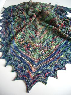 Braided shawl/Flechttuch | Flickr - Photo Sharing!