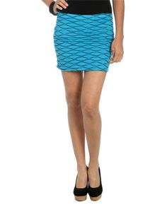 Whip Stitch Bodycon Skirt from WetSeal.com