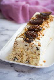 Chic, chic, chocolat...: Nougat glacé aux amandes caramélisées et aux fruits confits