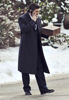 <3 Snow. Coat. I want Christmas. #Supernatural #DeanWinchester