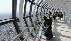 Tokyo Skytree (東京スカイツリー) for a bird's eye view of the city