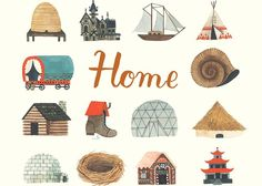 The illustrated children s book Home by Carson Ellis would make a great closing gift for families with young children Carson Ellis, Fat Man, Advantages Of Watermelon, Book Lists, Reading Lists, Book Show, Where The Heart Is, Vegan Recipes Easy, Over The Years