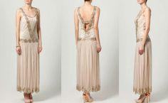 Rückenfreies Kleid lang mit Perlen + Outfit Tipps http://www.fancybeast.de/fashion-mode/rueckenfreies-kleid-lang-mit-perlen/