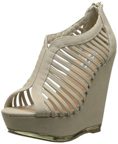 Steve Madden Women's Wresse Wedge Sandal -- Discover this special product, click the image : Strappy sandals