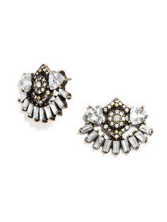 A fun twist on stud earrings