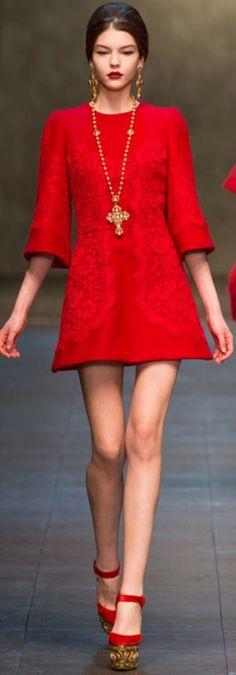 Fall 2013 Ready-to-Wear Dolce & Gabbana look56