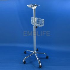 (118.00$)  Buy here  - medical patient monitor trolley rolling stand