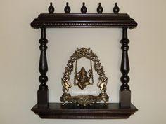 Pooja Mandirs USA - Vishaka Collection - Wall Hanging Mandirs