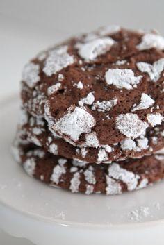 Popráskané čokoládové sušienky