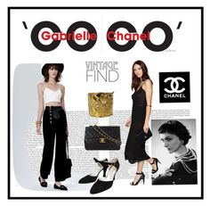 ANYTHING VINTAGE CHANEL - My Favorite Vintage Find by lovesparisstudio on Polyvore featuring polyvore, fashion, style, Chanel, vintage and contestentry