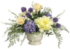 Hydrangea, Peony and Rose Arrangement