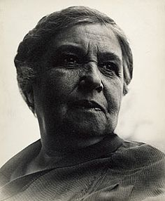 No title [Emma Goldman] 1936 Barcelona gelatin silver photograph Collection of the National Gallery of Australia Gift of the estate of Margaret Michaelis-Sachs 1986 With permission of Sir William Dobell Art Foundation