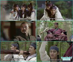 for breaking the curfew the 5 hwarang got a punishment next morning - Hwarang: Episode 8