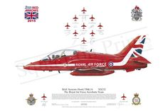 Our friends at Squadron Prints have given us some 2013 signed RAF Red Arrows art prints to add to the prize bundle! Air Fighter, Fighter Jets, Steve Morris, Raf Red Arrows, Arrow Art, Pilot Gifts, Royal Air Force, Aviation Art, Air Show