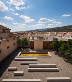 Renovation Of The Oscense Theatre And Its Annexe Cloister, Huéscar, 2013 - GGYPB arquitectura