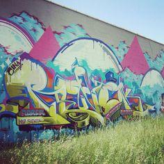 Graffiti. Detroit. Revok x Saber. MSK. Mad Society Kings. The Seventh Letter.