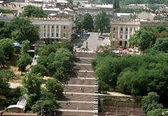 Potemkin Stairs. Потемкинская лестница.   #Odessa #Ukraine #stairs #staircase #birdview