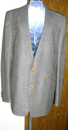 70s mens Oleg Cassini wool western style by ChloeandNatalieVtg, $155.00