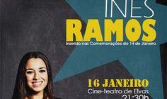 Inês Ramos apresenta o seu novo projecto em concerto no Cineteatro