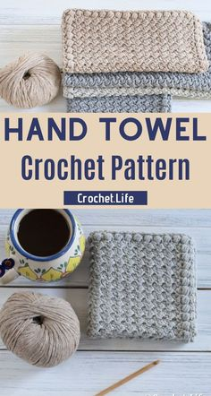 Hand Towel Crochet pattern