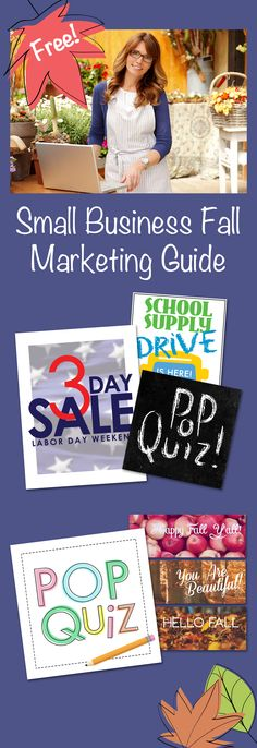 Kick off your fall marketing with our Free Fall Marketing Guide. It's full of promotion ideas and marketing freebies including Facebook cover photos, social posts and posters.   http://www.boutiquewindow.com/fall