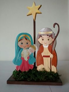 Nacimiento Christmas Nativity Set, Christmas Yard Art, Christmas Drawing, A Christmas Story, Christmas Crafts, Christmas Decorations, Christmas Ornaments, Styrofoam Art, Indoor Crafts