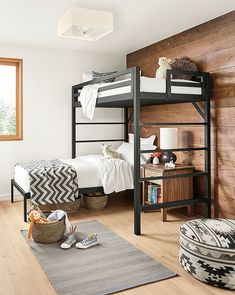Give your kiddos more room to play with a space-saving modern bunk or loft bed. With a variety of sizes, configurations and color options, we make it easy to maximize your space without forfeiting your child's unique style and personality.