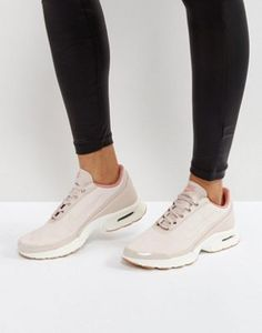 Nike Air Max Jewell Trainers In Pastel Pink Leather Pink Sneakers b3658bd01