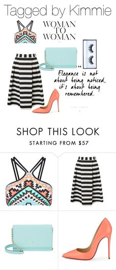 """""""Untitled #349"""" by taggedbykimmie15 on Polyvore featuring Seafolly, Lipsy, Kate Spade, Christian Louboutin and Huda Beauty"""