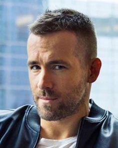 Ryan Reynolds haircut – Men's Hairstyles and Beard Models Popular Haircuts, Haircuts For Men, Men's Haircuts, Ryan Reynolds Haircut, Short Hair Cuts, Short Hair Styles, Short Hair For Men, Men's Cuts, Male Body