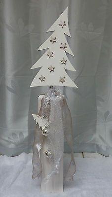 Deko Holzpfosten, Weihnachtliche Holzdeko, Holzfiguren versch. zur Auswahl *NEU