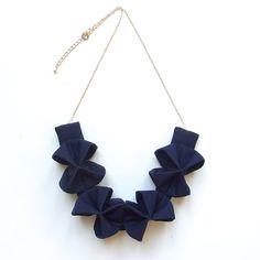 Origami Kuru Shou Navy Blue por HOMAKO en Etsy