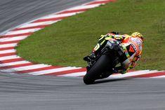 Valentino Rossi corner entry, no mere mortal.