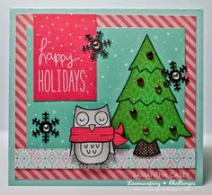 Lawnscaping Challenge #96- Merry Christmas @lawnscaping @lawnfawn