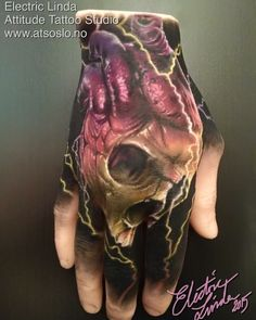 "#apof ""A Pound Of Flesh"" hand I tattooed  Booking: tattoo@atsoslo.no(47)22201313  Facebook: attitudetattoostudio Snapchat: attitudetattoos  Please Follow: @attitudetattoostudio  I use: @intenzetattooink @cheyennetattooequipment  @eternalink @stencilstuff…"