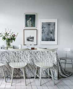 Fresh and sunny table - via Coco Lapine Design