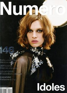 Ashleigh Good - Numero Magazine Cover [France] (2 September 2013)