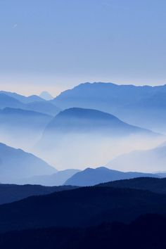 Free stock photo of landscape, mountains, nature, fog