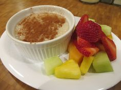 Oatmeal and fresh fruit from 161 Diner in Columbus, Ohio