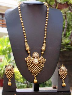 Beautiful Kundan & Polki Necklace Set