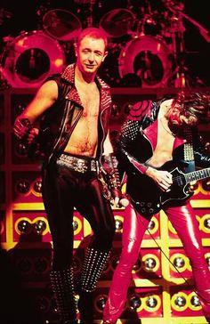Rob Halford and Glenn Tipton - Judas Priest, 1981