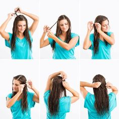 The Braided Crown http://www.womenshealthmag.com/beauty/hairstyles-for-wet-hair/slide/4