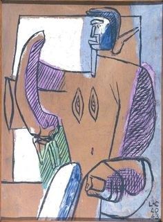 Fondation Le Corbusier - Peintures - Divinité baroque