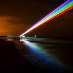 Global Rainbow Installation by Yvette Mattern