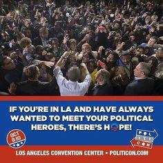#Politicon in LA October 9-10! Entertain Democracy! #Hope #Change #LosAngeles : @politicon