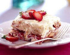 Strawberry Tiramisu Recipe at Epicurious.com