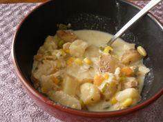 Crockpot chicken chowder